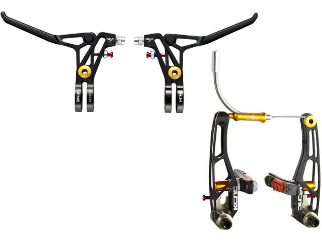 KCNC VB1 V-Brake Set, black